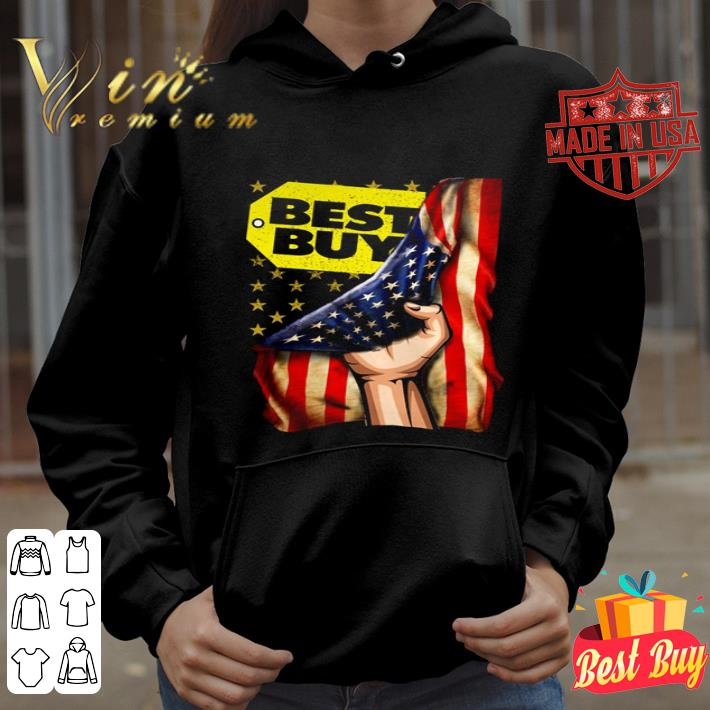 Best Buy logo American Flag shirt